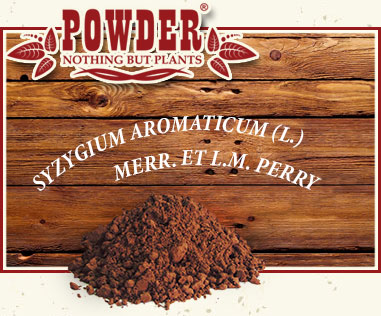 POWDER - CHIODO DI GAROFANO BIOLOGICO