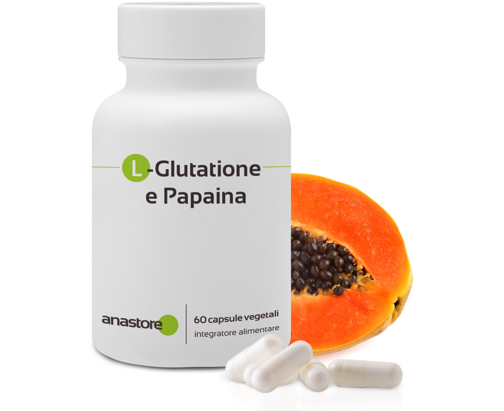 L - Glutathion e Papaya